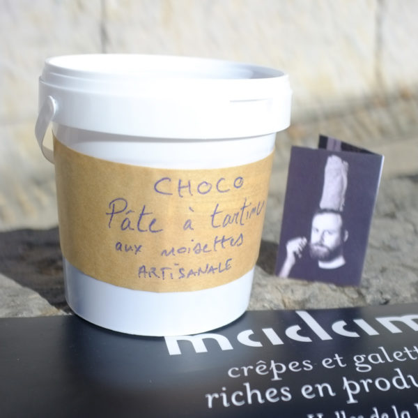 Pâte a tartiner choco noisette artisanale